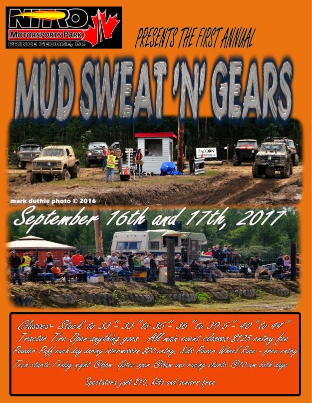 mud bog 2017 poster